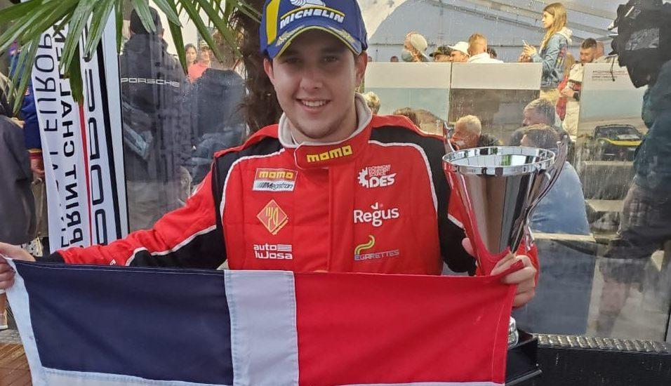 Piloto dominicano Jimmy Llibre gana el Campeonato Porsche en Europa. –  Operacion Deportiva